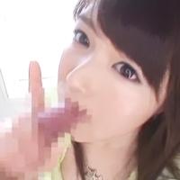 可愛さアイドル級!美少女のフェラコキで連続顔射!飲みまくってゴックン-のサムネイル画像