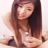 変態美少女が激責め♪生脱ぎパンツでチンコキ♪激ジュポフェラで限界突破!-のサムネイル画像