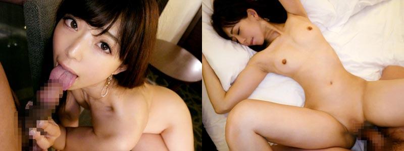 無料エロ動画「プリ尻で小さな乳首のお天気キャスターの美女が初AV出演♪」の紹介画像