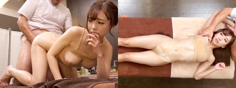 無料エロ動画「【マッサージ盗撮】童顔美少女の身体がクビレてむっちりエロいよw」の紹介画像
