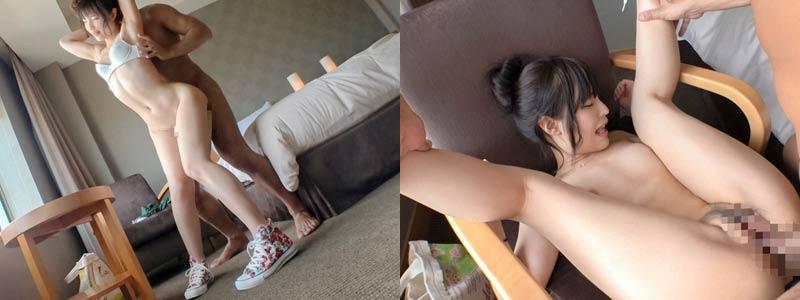 無料エロ動画「絶対ナンパに引っかからなそうな真面目女子と昼間からホテルでセックスw」の紹介画像