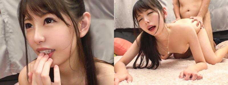 無料エロ動画「ルックス最強!ペタ胸でアヘ顔も可愛い女神降臨w!」の紹介画像