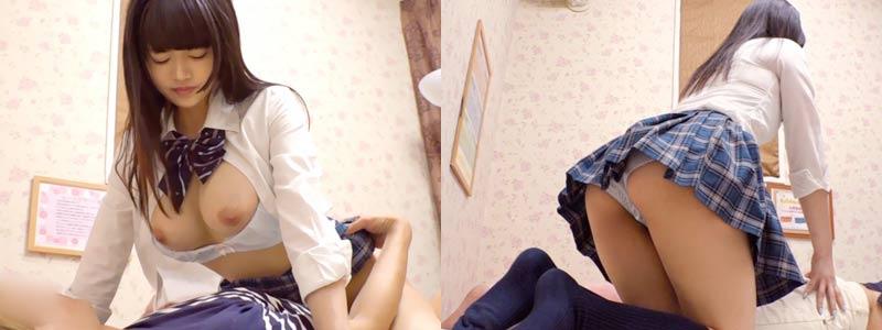 無料エロ動画「黒髪ロングの長身美少女!制服コスプレリフレ盗撮!」の紹介画像