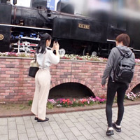 エエ尻やん…新橋駅でナンパした鉄道オタクの清楚な営業ウーマン!と思いきや実は…w-のサムネイル画像
