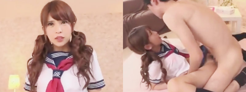 坂口杏里が25歳でセーラー服に!初めてのコスプレセックス♪|無料エロ動画ぎゃるロリ学園